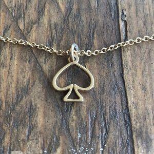 Kate Spade ♠️ Golden Spade Necklace